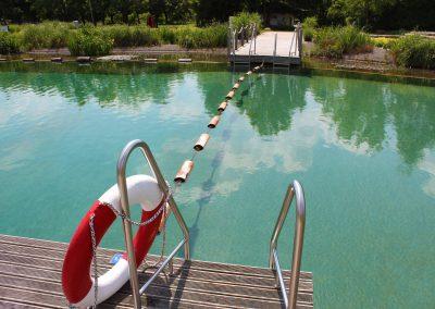 Naturbadesee im aquaLaatzium