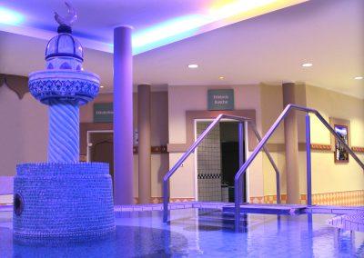 Innenbereich Saunaanlage aquaLaatzium